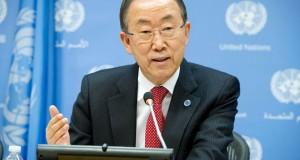 Message de Ban Ki Moon à l'occasion de la Journée Mondiale de Lutte contre le SIDA