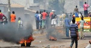 Guinée: prison femanifestations-reprimees-avec-violence-en-guineerme pour cinq personnes en raison de «troubles à l'ordre public»