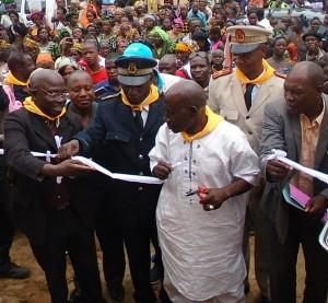 Lancement radio de Yomou_Ministre de la COM et Gvneur de   Nzerekore