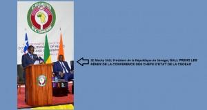 Le président sénégalais Macky Sall prend les rênes de la conférence des chefs d'Etat de la CEDEAO