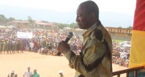 Kérouané : Le Président Alpha Condé appelle à l'unité nationale