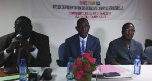 """""""Guinée Vision 2035"""" : les résultats de l'analyse structurelle, dévoilés."""