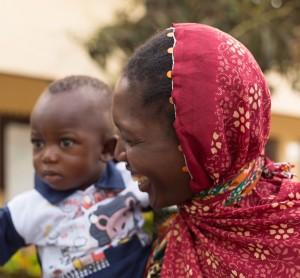 Mohamed et sa mère