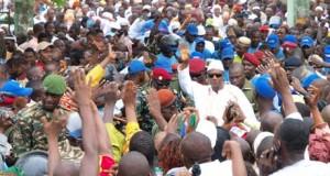 Le président Alpha Condé à Dubréka ce dimanche