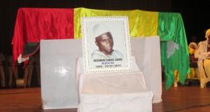 L'ultime hommage de la nation et du monde culturel à l'enfant de Damaro, Ansoumane blackso Camara.