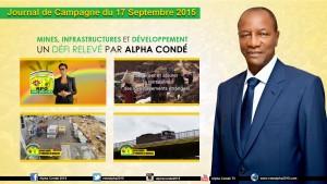 Journal de la Campagne du 17 Septembre - Mines et  Infrastructures