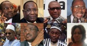 Voici les raisons qui motivent la demande de report de sept des huit candidats à la présidentielle guinéenne (Copie courrier à Mr Cheick Sackho)