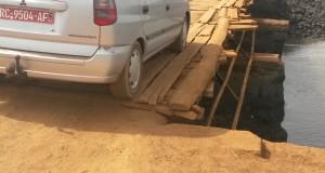 Km36-Kansoyah: Le pont de tous les risques…