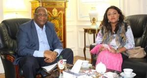 Kouyaté parle de sa rencontre avec Marie Madeleine Dioubaté à Paris