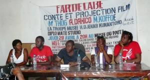 FAR de Labé: Des humoristes guinéens à l'école de l'ivoirien Adama Dahico