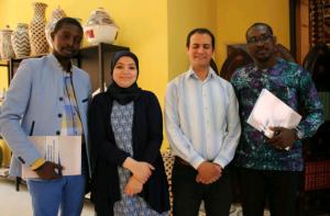 Le DG de l'ONPA en compagnie du staff du Centre de formation et de Qualification artisanale de Marrakech