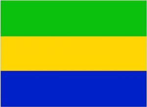 drapeau-gabon