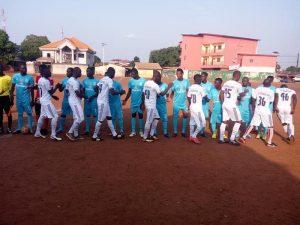 Deuxième Match de la J4 Gangan (bleu)-AGP(blanc)