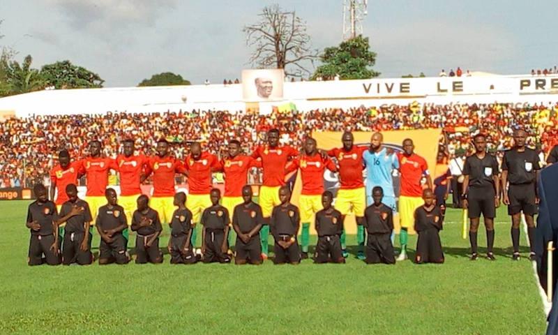 Avec sa sélection de Guinée aussi, François Kamano marque !