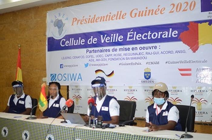 Présidentielle en Guinée: déclaration d'entrée de la Cellule de Veille Électorale