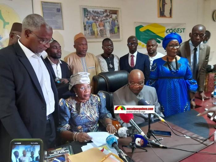 Rencontre CNRD-Certains partis politiques ce lundi?: la CORED de Mamadou Sylla hausse le ton et met en garde